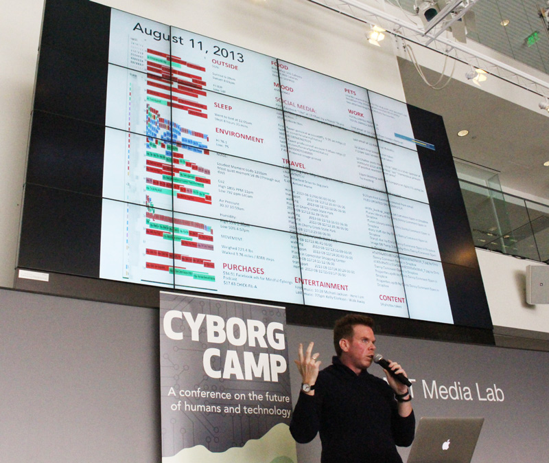 CyborgCamp MIT Media Lab Chris Dancy Keynote
